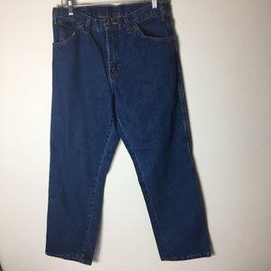 Dickies Blue 5-Pocket Work Straight Leg Jeans